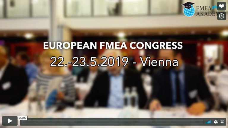 Video FMEA Congress 2019